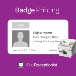 New Feature: Visitor Badge Printing!
