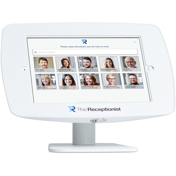 The Receptionist for iPad Contact Selection
