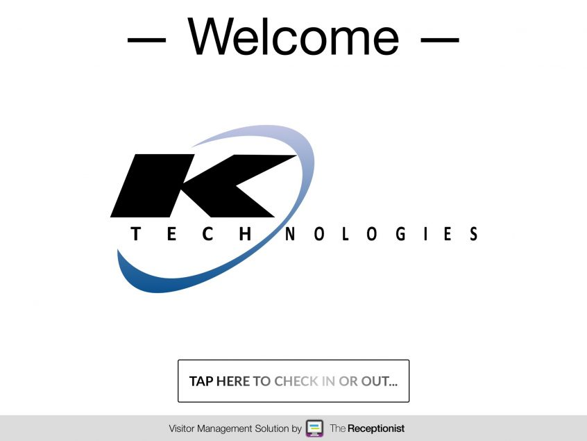 KTECHnologies check in screen