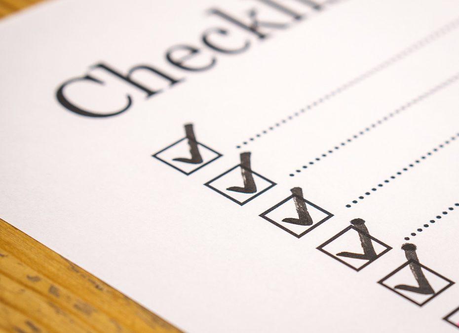 visitor management checklist