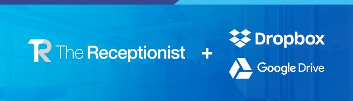 The Receptionist Google Drive Dropbox Integration Header