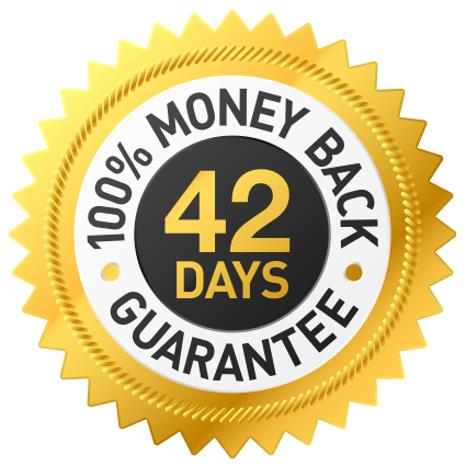 42-Day Guarantee Badge