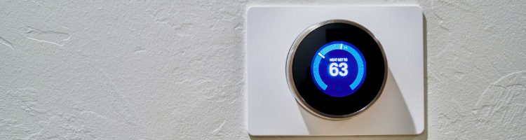 AI in Office Management Blog Featured Image nest thermostat