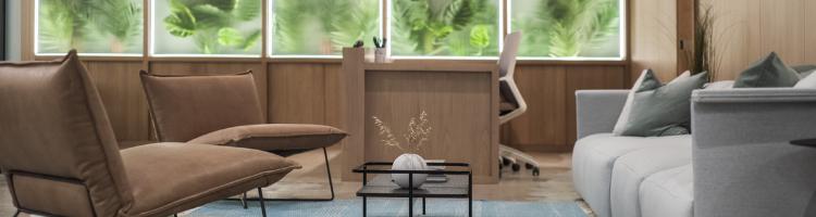 Long-term care facility lobby design